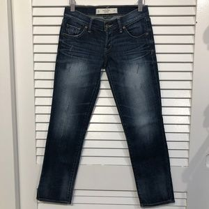 Abercrombie & Fitch Crop Skinny Jeans